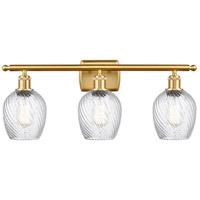 Innovations Lighting 516-3W-SG-G292-LED Salina LED 26 inch Satin Gold Bath Vanity Light Wall Light Ballston