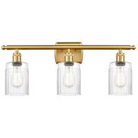 Innovations Lighting 516-3W-SG-G342-LED Hadley LED 26 inch Satin Gold Bath Vanity Light Wall Light Ballston