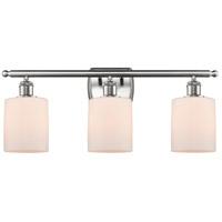 Innovations Lighting 516-3W-SN-G111 Cobbleskill 3 Light 26 inch Satin Nickel Bath Vanity Light Wall Light, Ballston