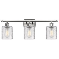 Cobbleskill LED 26 inch Brushed Satin Nickel Bathroom Fixture Wall Light