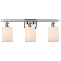 Innovations Lighting 516-3W-SN-G341 Hadley 3 Light 26 inch Satin Nickel Bath Vanity Light Wall Light Ballston