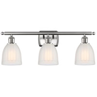 Satin Nickel Brookfield Bathroom Vanity Lights