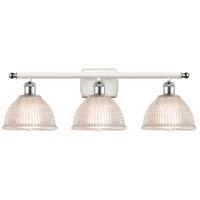 Innovations Lighting 516-3W-WPC-G422-LED Arietta LED 26 inch White And Polished Chrome Bath Vanity Light Wall Light Ballston