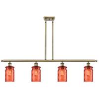 Innovations Lighting 516-4I-AB-G352-COR-LED Candor LED 48 inch Antique Brass Island Light Ceiling Light Ballston