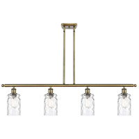 Innovations Lighting 516-4I-AB-G352-LED Candor LED 48 inch Antique Brass Island Light Ceiling Light Ballston