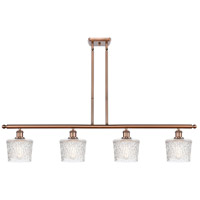 Innovations Lighting 516-4I-AC-G402-LED Niagra LED 48 inch Antique Copper Island Light Ceiling Light Ballston
