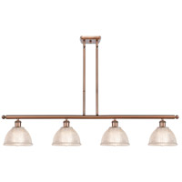 Innovations Lighting 516-4I-AC-G422-LED Arietta LED 48 inch Antique Copper Island Light Ceiling Light Ballston