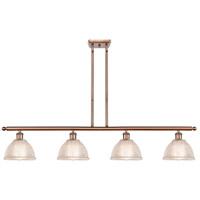 Innovations Lighting 516-4I-AC-G422 Arietta 4 Light 48 inch Antique Copper Island Light Ceiling Light Ballston