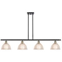 Innovations Lighting 516-4I-BAB-G422 Arietta 4 Light 48 inch Black Antique Brass Island Light Ceiling Light Ballston