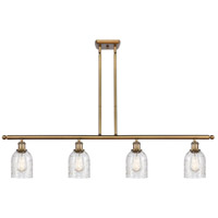 Innovations Lighting 516-4I-BB-G259-LED Caledonia LED 48 inch Brushed Brass Island Light Ceiling Light, Ballston