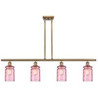 Innovations Lighting 516-4I-BB-G352-LIL Candor 4 Light 48 inch Brushed Brass Island Light Ceiling Light Ballston