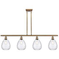 Innovations Lighting 516-4I-BB-G372-LED Large Waverly LED 48 inch Brushed Brass Island Light Ceiling Light Ballston