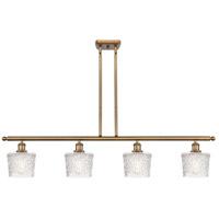 Innovations Lighting 516-4I-BB-G402 Niagra 4 Light 48 inch Brushed Brass Island Light Ceiling Light, Ballston