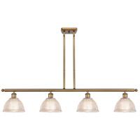 Innovations Lighting 516-4I-BB-G422 Arietta 4 Light 48 inch Brushed Brass Island Light Ceiling Light Ballston