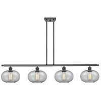 Innovations Lighting 516-4I-BK-G247 Gorham 4 Light 48 inch Matte Black Island Light Ceiling Light Ballston