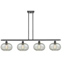 Innovations Lighting 516-4I-BK-G249 Gorham 4 Light 48 inch Matte Black Island Light Ceiling Light Ballston