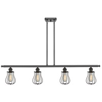 Innovations Lighting 516-4I-OB-513 Barrington 4 Light 42 inch Oiled Rubbed Bronze Island Light Ceiling Light