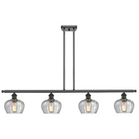 Innovations Lighting 516-4I-OB-G92-LED Fenton LED 48 inch Oil Rubbed Bronze Island Light Ceiling Light