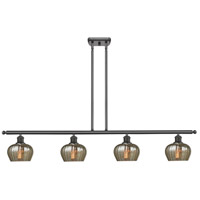 Innovations Lighting 516-4I-OB-G96-LED Fenton LED 48 inch Oil Rubbed Bronze Island Light Ceiling Light