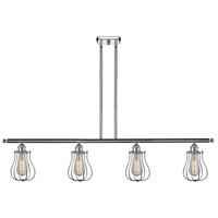 Innovations Lighting 516-4I-PC-513 Barrington 4 Light 42 inch Polished Chrome Island Light Ceiling Light