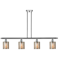 Cobbleskill 4 Light 42 inch Polished Chrome Island Light Ceiling Light