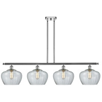 Innovations Lighting 516-4I-WPC-G92-L-LED Large Fenton LED 48 inch White And Polished Chrome Island Light Ceiling Light Ballston