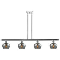 Innovations Lighting 516-4I-PC-G93 Fenton 4 Light 42 inch Polished Chrome Island Light Ceiling Light