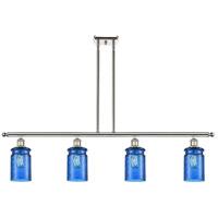 Innovations Lighting 516-4I-PN-G352-BL Candor 4 Light 48 inch Polished Nickel Island Light Ceiling Light, Ballston