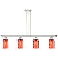 Innovations Lighting 516-4I-PN-G352-COR Candor 4 Light 48 inch Polished Nickel Island Light Ceiling Light, Ballston