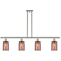 Innovations Lighting 516-4I-PN-G352-TOF Candor 4 Light 48 inch Polished Nickel Island Light Ceiling Light, Ballston