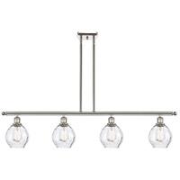 Innovations Lighting 516-4I-PN-G362 Small Waverly 4 Light 48 inch Polished Nickel Island Light Ceiling Light, Ballston