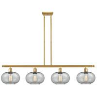 Innovations Lighting 516-4I-SG-G247 Gorham 4 Light 48 inch Satin Gold Island Light Ceiling Light Ballston
