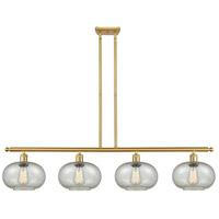Innovations Lighting 516-4I-SG-G249 Gorham 4 Light 48 inch Satin Gold Island Light Ceiling Light Ballston