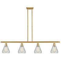Innovations Lighting 516-4I-SG-G275-LED Conesus LED 48 inch Satin Gold Island Light Ceiling Light Ballston