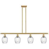 Innovations Lighting 516-4I-SG-G292-LED Salina LED 48 inch Satin Gold Island Light Ceiling Light Ballston