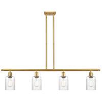 Innovations Lighting 516-4I-SG-G342-LED Hadley LED 48 inch Satin Gold Island Light Ceiling Light Ballston
