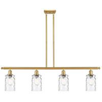 Innovations Lighting 516-4I-SG-G352-LED Candor LED 48 inch Satin Gold Island Light Ceiling Light Ballston