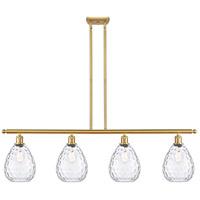 Innovations Lighting 516-4I-SG-G372-LED Large Waverly LED 48 inch Satin Gold Island Light Ceiling Light Ballston