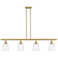 Innovations Lighting 516-4I-SG-G392-LED Ellery LED 48 inch Satin Gold Island Light Ceiling Light Ballston