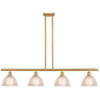 Innovations Lighting 516-4I-SG-G422-LED Arietta LED 48 inch Satin Gold Island Light Ceiling Light Ballston