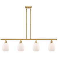 Innovations Lighting 516-4I-SG-G81-LED Eaton LED 48 inch Satin Gold Island Light Ceiling Light Ballston
