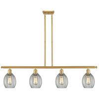 Innovations Lighting 516-4I-SG-G82 Eaton 4 Light 48 inch Satin Gold Island Light Ceiling Light Ballston