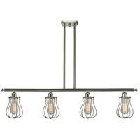 Innovations Lighting 516-4I-SN-513 Barrington 4 Light 42 inch Brushed Satin Nickel Island Light Ceiling Light