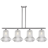 Innovations Lighting 516-4I-SN-G212 Springwater 4 Light 48 inch Satin Nickel Island Light Ceiling Light, Ballston