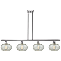 Innovations Lighting 516-4I-SN-G249-LED Gorham LED 48 inch Satin Nickel Island Light Ceiling Light Ballston