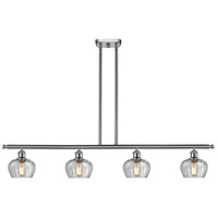 Innovations Lighting 516-4I-SN-G92 Fenton 4 Light 42 inch Brushed Satin Nickel Island Light Ceiling Light