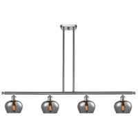 Innovations Lighting 516-4I-SN-G93-LED Fenton LED 48 inch Brushed Satin Nickel Island Light Ceiling Light
