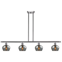 Innovations Lighting 516-4I-SN-G93 Fenton 4 Light 42 inch Brushed Satin Nickel Island Light Ceiling Light