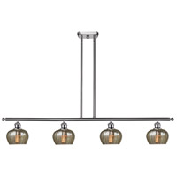 Innovations Lighting 516-4I-SN-G96-LED Fenton LED 48 inch Brushed Satin Nickel Island Light Ceiling Light