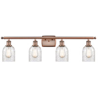 Innovations Lighting 516-4W-AC Bare Bulb 4 Light 36 inch Antique Copper Bath Vanity Light Wall Light Ballston